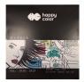 Blok do markerów Happy Color, 20x20 cm, 25 arkuszy (HA 3710 2020-A25)