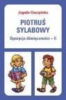 Piotruś sylabowy Opozycja dźwięczności-II
