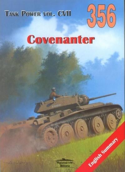 Covenanter. Tank Power vol. CVII 356 Janusz Ledwoch