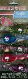 Taśmy Monster High 5 taśm w różnych kolorach (64044)