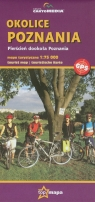 Okolice Poznania mapa turystyczna 1:75 000