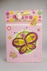 Torebka Ozdobna 3D Mała Motylki