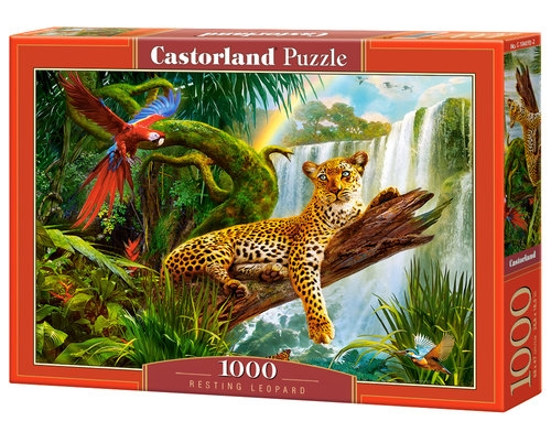 Puzzle Resting Leopard 1000