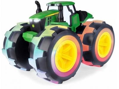 John Deere traktor świecące opony