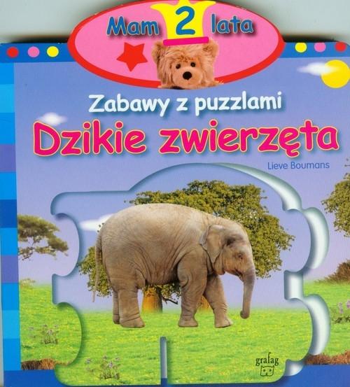 Mam 2 lata Zabawy z puzzlami Dzikie zwierzęta