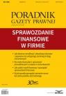 Sprawozdanie finansowe w firmie