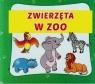 Zwierzęta w zoo harmonijka mała