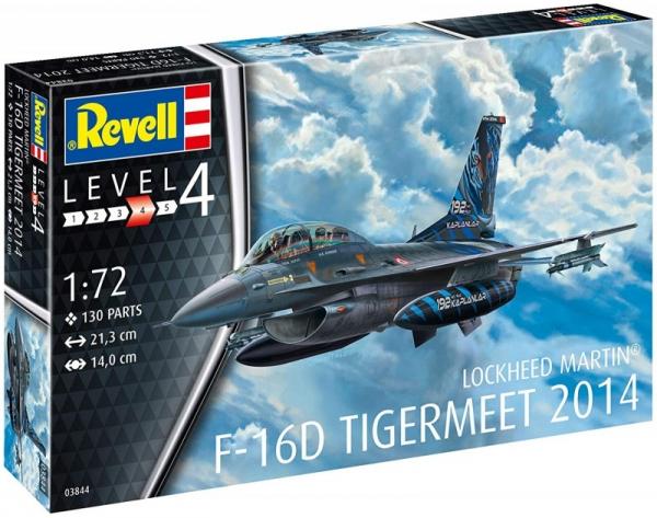 Model do sklejania F-16D Fighting Falcon (03844)