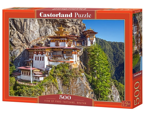 Puzzle 500 View of Paro Taktsang Bhutan