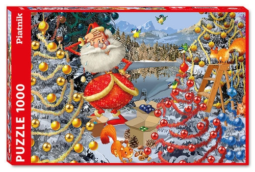 Puzzle 1000 Ruyer Dekoracje Świąteczne
