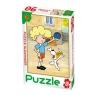Puzzle 90 Reksio zabawa z chłopcem (0644)