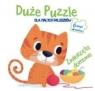 Duże puzzle dla małych paluszków -Zwierzęta domowe