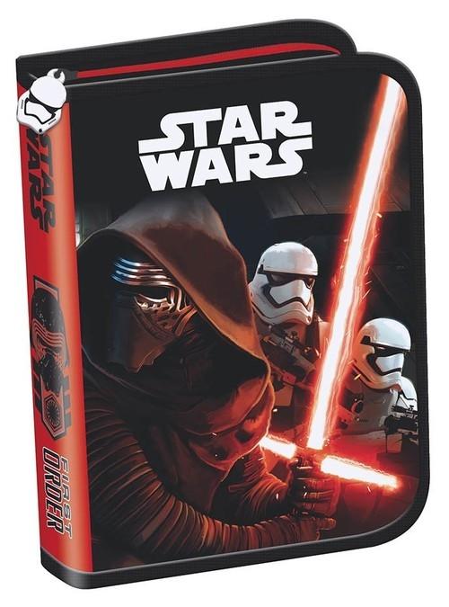 Piórnik dwuklapkowy bez wyposażenia Star Wars Epizod VII