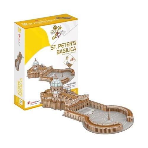 Puzzle 3D St. Peters Basilica 68