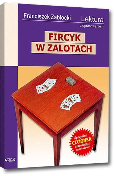 Fircyk w zalotach (Uszkodzona okładka) Franciszek Zabłocki