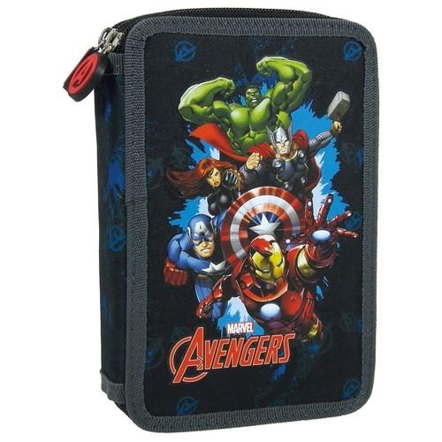 Piórnik dwukomorowy z wyposażeniem Avengers 11