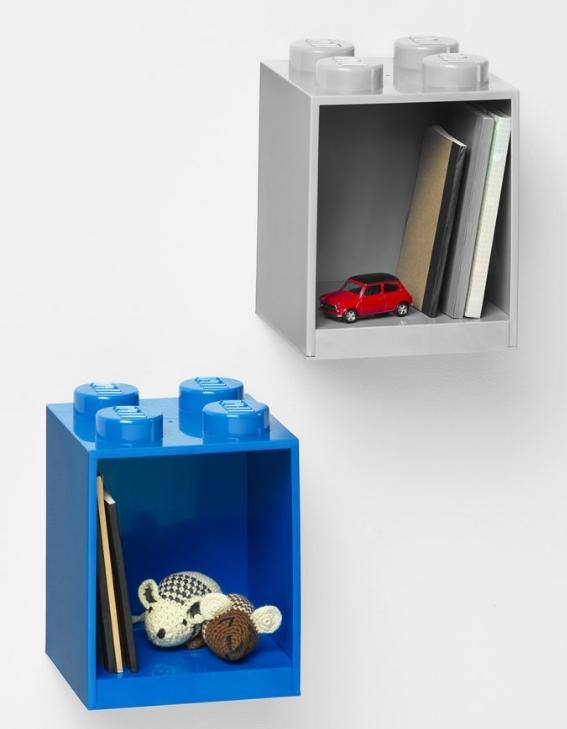Półka LEGO® BRICK 4 - Niebieska (41141731)