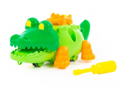 Klocki krokodyl