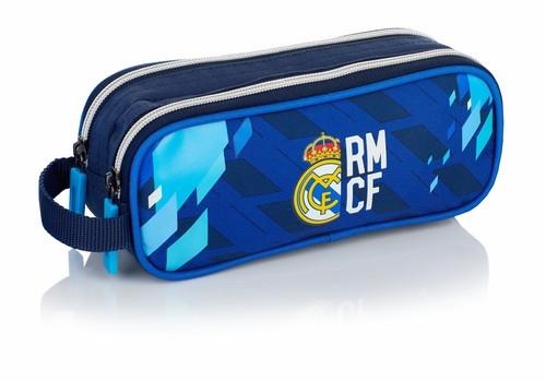 Saszetka - piórnik na dwa zamki RM-128 FC Real Madrid