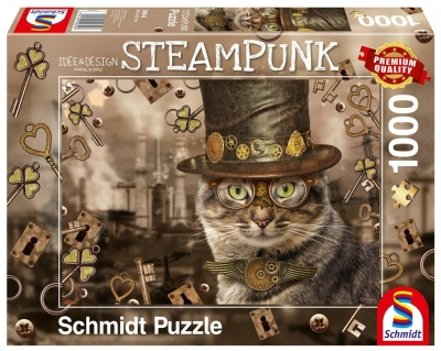Puzzle PQ 1000 Kot (Steampunk) G3