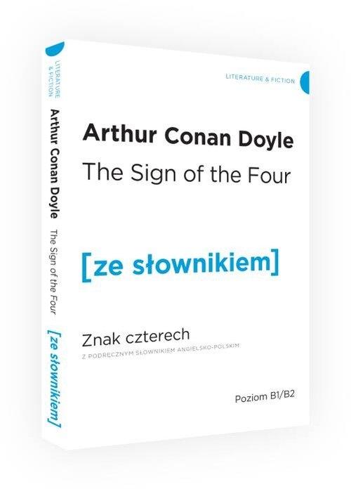 Znak czterech ze słownikiem Doyle Arthur Conan
