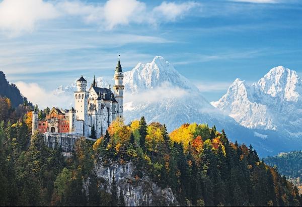 Puzzle 1500 elementów Alpy Bawarskie (26133)