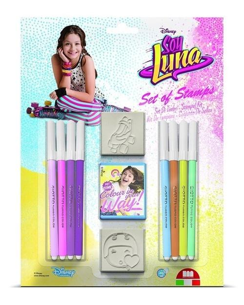 Pieczątki Soy Luna 2 sztuki