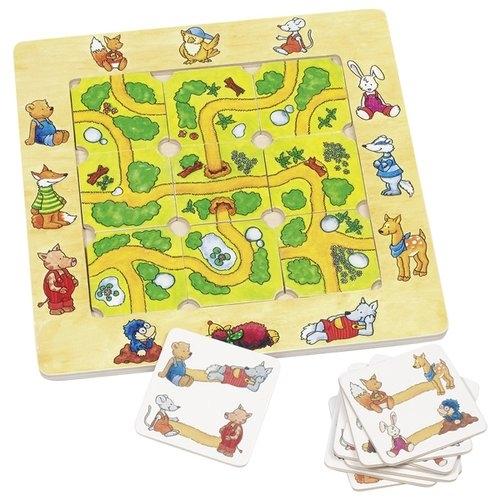 Znajdź drogę Puzzle supełki (GOKI- 56944)