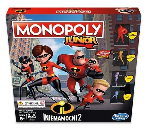 Gra Monopoly Junior Iniemamocni 2 (E1781)