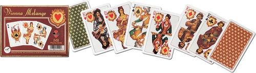 Karty do gry Piatnik 2 talie, Vienna Melange