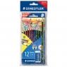 Kredki Noris Club 12 kolorów +ołówek HB2 + gumka