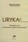 Liryka Uniwersalne wzory do opanowania umiejętności polonistycznych