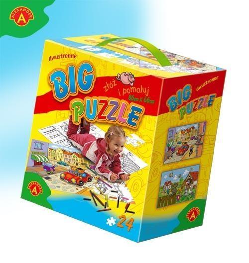 Big puzzle I do kolorowania 2x12 (0244)