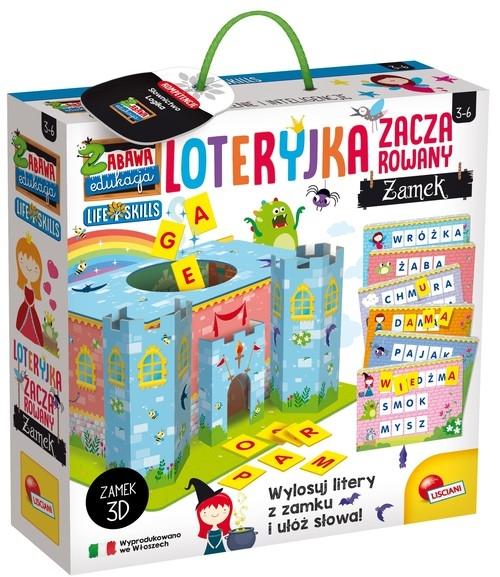 Zabawa i edukacja - Loteryjka - Zaczarowany zamek (304-PL72620)
