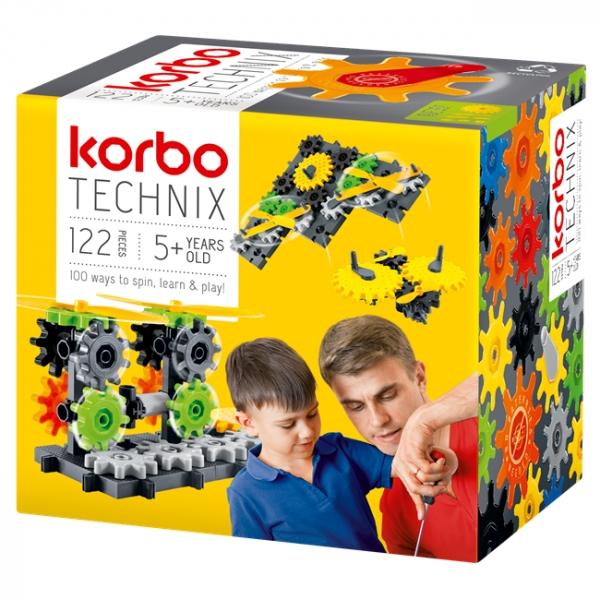 Korbo Klocki Technix 122 (R1410) (Zgnieciony kartonik)