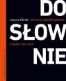 Dosłownie Liternicze i typograficzne okładki polskich książek Górski Janusz