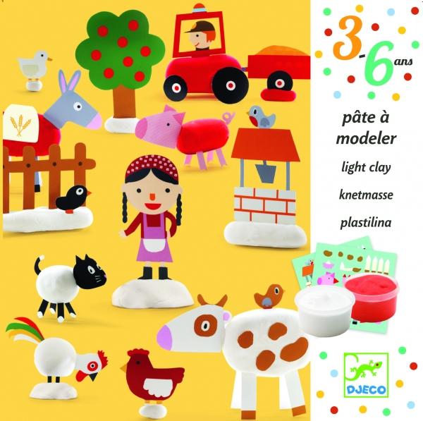 Zestaw artystyczny z modeliną Farma (DJ09734)