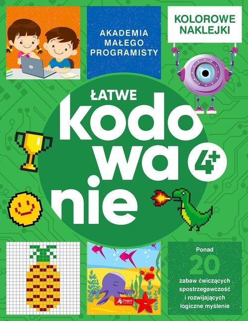 Akademia małego programisty. Łatwe kodowanie Żarowska-Mazur Alicja,Mazur Dawid