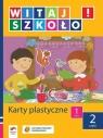 Witaj szkoło 1 Karty plastyczne część 2 szkoła podstawowa Korcz Anna, Zagrodzka Dorota