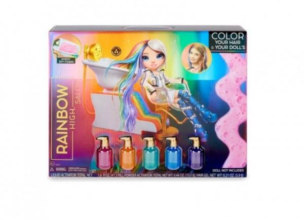 Zestaw Rainbow High Salon Playset (567448E7C)