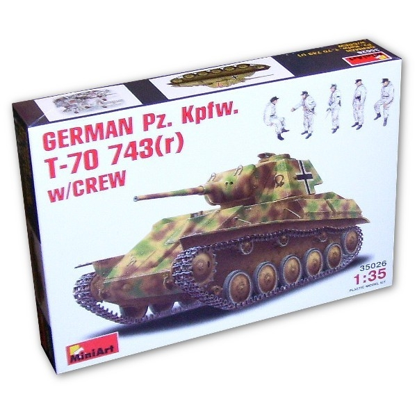 MINIART German Pz.Kpfw. T-70 743(r)