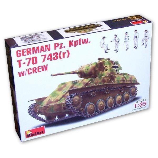 MINIART German Pz.Kpfw. T-70 743(r)