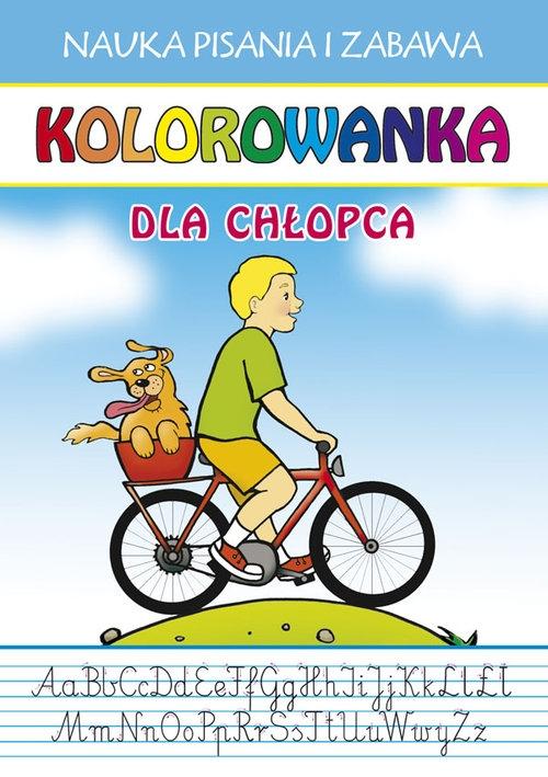 Kolorowanka Dla chłopca Guzowska Beata, Jerzyk Katarzyna
