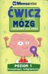 Mensa Kids Ćwicz swój mózg Łamigłówki dla dzieci Poziom 1