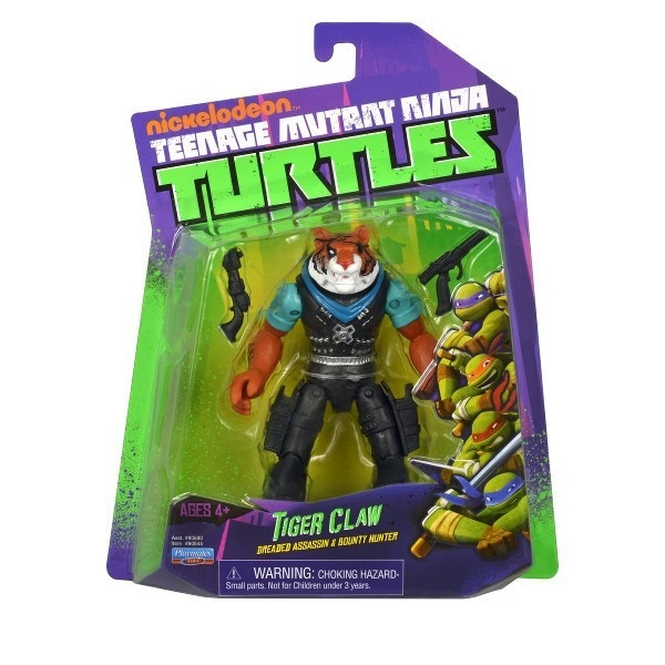 TURTLES Żółwie Ninja Fig . Tiger Claw12 cm