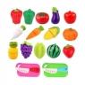 Owoce i warzywa na rzepy z tacą i nożami (105048)