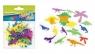 Ozdoba dekoracyjna samoprzylepna pianka dino