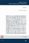 C XXV. Tabulaturae Braunsbergenses-Olivenses cz.2 red. Marcin Szelest