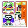 Kolorowanki pixele Skull boys (DJ09644)