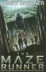 The Maze Runner okładka filmowa Dashner James